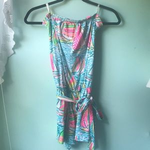 NEW You Gotta Regatta Ritz Romper Lilly Pulitzer
